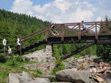 Jizerka a most přes Jizeru
